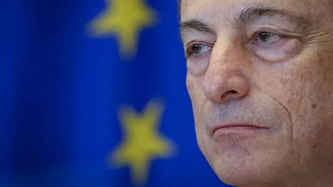 EKP:n pääjohtaja Mario Draghi.
