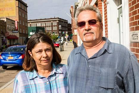 Misty ja Mark Kaestner Middletownissa.