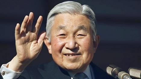 Keisari Akihito.