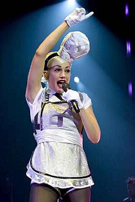 Timminä beibenä tunnettu Gwen Stefani joutuu taistelemaan kiloja vastaan vieläkin.