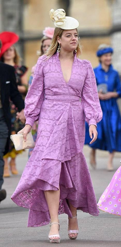 Flora nähtiin myös toukokuussa lady Gabriella Windsorin häissä.