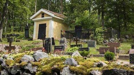 Arkistokuva Teijon hautausmaalta.