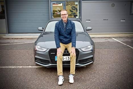 Kesäautona Stusterilla on Audi A4 – nelivetoisena tietenkin.