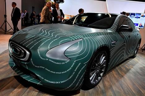 Thunder Power Sedan tulee hongkongilaisesta, sähköön uskovasta start-up-yrityksestä.