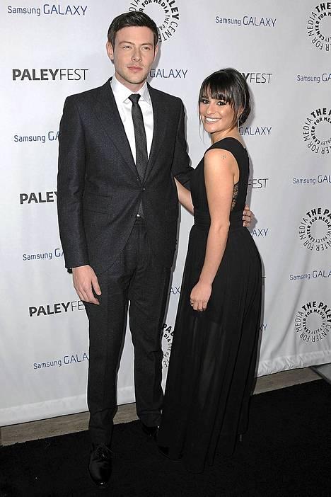 Cory Monteith ja Lea Michele ehtivät näytellä Glee-sarjassa rakastavaisia kolme vuotta ennenkuin he alkoivat seurustella tosielämässä.