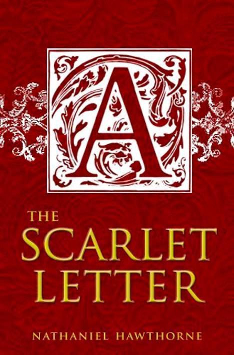 The Scarlett Letter -kirjan kansi.