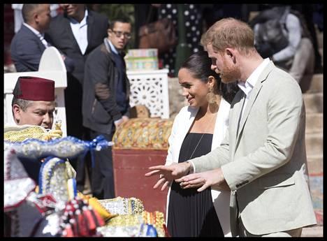 Herttuaparilla oli matkansa aikana monenlaista ohjelmaa.