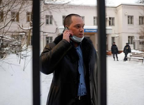 Aleksei Navalnyin asianajaja Vadim Kobzev.