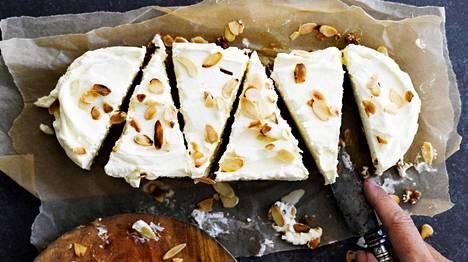 Pipareista syntyy himottava kakku.