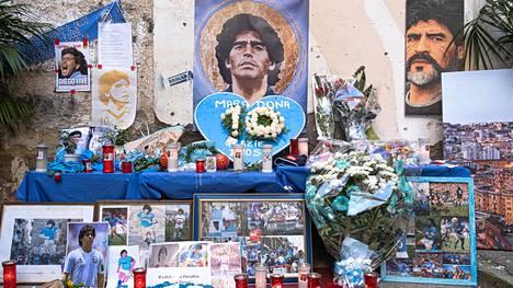 Muisto Diego Maradonasta elää.