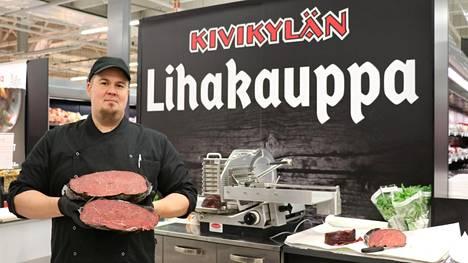 – Kaikki Kivikylän liha tulee lounaissuomalaisilta, huolella hoidetuilta pientiloilta, joiden isännät ja emännät ovat Kivikylän tekijöille tuttuja, sanoo Pasi Haanpää.
