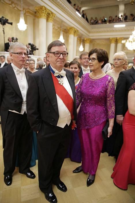 Paavo Väyrynen ja Vuokko Väyrynen.
