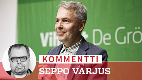 Haavisto on suurempi uhka kokoomuksen Petteri Orpolle kuin Sdp:n Antti Rinteelle, kirjoittaa erikoistoimittaja Seppo Varjus.