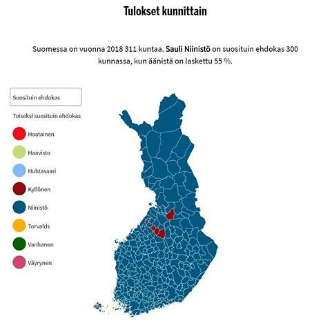 Montako Kuntaa Suomessa On
