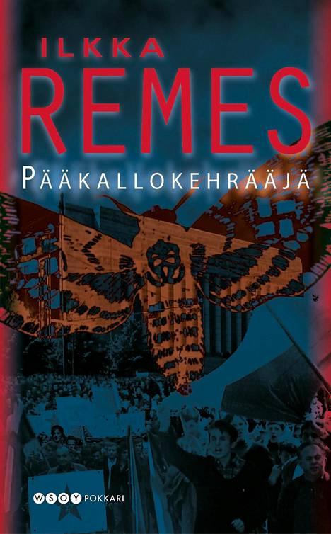 Pääkallokehrääjä on Remeksen ensimmäinen kirja.