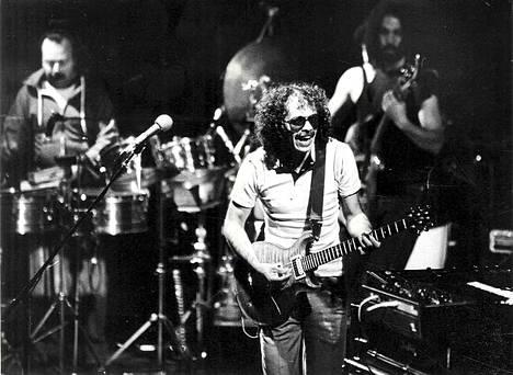 Carlos Santana Helsingissä 1983