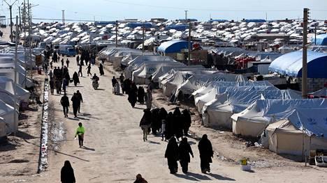 Al-Holin leirillä on usean maan kansalaisia.