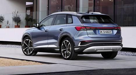 Sekä Q4 50 e-tron että Q4 Sportback 50 e-tron ovat pituudeltaan 4,59-metrisiä. Tasaisen lattian ansiosta sisätilojen koko on verrattavissa suurempiin SUV-malleihin, Audi määrittelee.