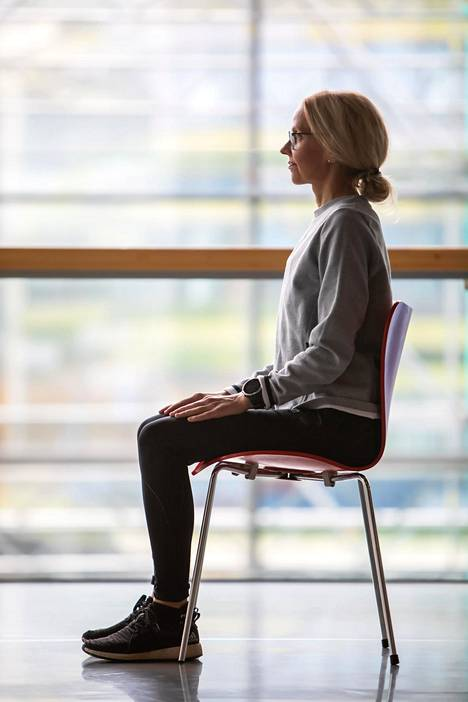 Oletko koskaan testannut, kuinka monta kertaa peräkkäin jaksat nousta tuolilta?