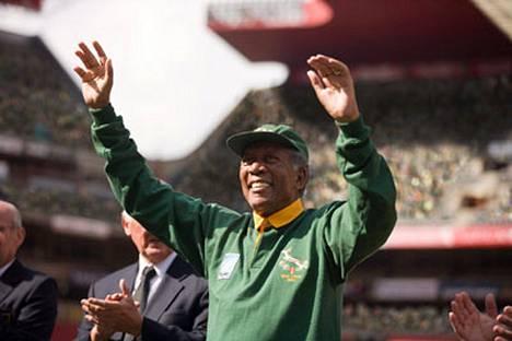 Morgan Freeman on kuin luotu Nelson Mandelan rooliin.