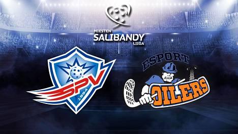 Katso miesten Salibandyliigan pronssitaistelu SPV-Oilers suorana ISTV:ssä!