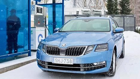 Škoda Octavian laajasta mallistosta löytyy myös kaasuversio.