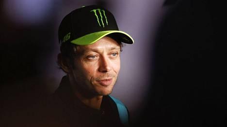 Valentino Rossi kertoi päätöksestään Itävallan GP:n alla.