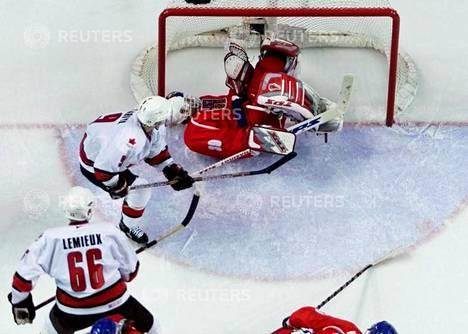 Kanada voitti kultaa Salte Lake Cityn olympialaisissa.