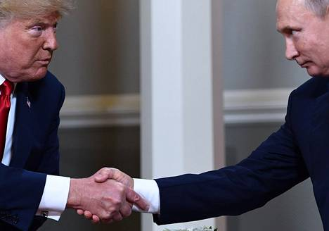 Trumpin ja Putinin tapaaminen Helsingissä puhuttaa jälleen.