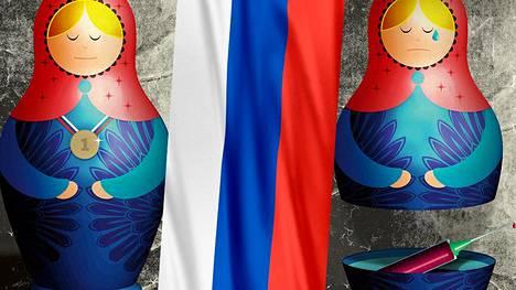 Venäjän dopingsaaga on tilanteessa, jossa edes suuri ja mahtava propagandakoneisto ei saa mustaa valkoiseksi.