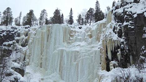 Korouman jääputoukset Posiolla valittiin parhaaksi retkipaikaksi.