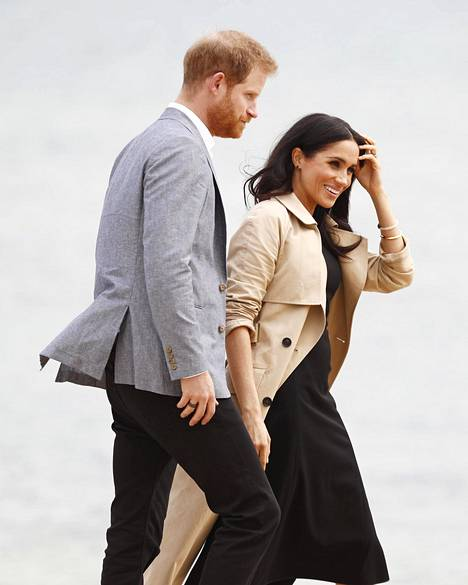 Harry ja Meghan vierailevat parhaillaan Australiassa.