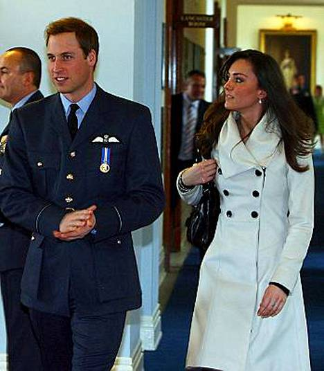 Prinssi William ja Kate Middleton.