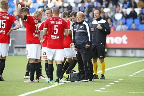 HIFK pelaa tänään Maarianhaminassa.