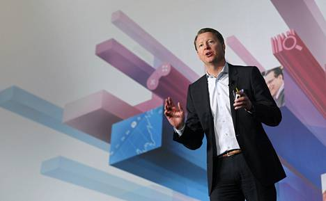 Ericssonin toimitusjohtaja Hans Vestberg