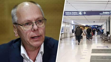 HUSin toimitusjohtaja Juha Tuominen pitää Espanjasta palaavia suomalaisia suurena riskinä terveydenhuollon kapasiteetille.