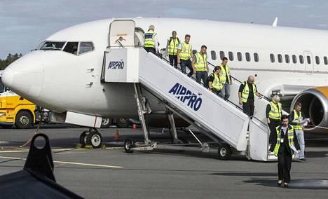 Turvapaikanhakijoita palautettiin takaisin kotimaahansa Lappeenrannasta lähteneellä lennolla elokuussa.