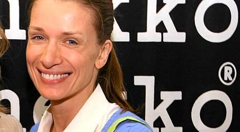 Angelika Kallio lokakuussa 2011 Marimekon New Yorkin liikkeen avajaisissa.