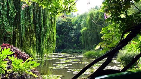 Givernyn puutarhoista ovat saaneet inspiraationsa Claude Monetin impressionistiset lumpeenkukkamaalaukset.