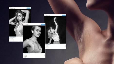 Valokuvaaja ikuisti upeisiin kuviin naiset, jotka eivät ajele kainalokarvojaan – miksi tämä näky on monelle liikaa?