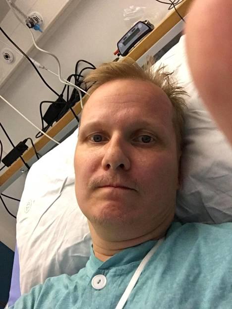 Lääkärin mukaan Karilla ei olisi ollut paljonkaan elinaikaa jäljellä ellei sydämen apupumppua olisi asennettu.