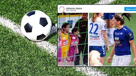 Kun Dejana Stefanovic oli pikkutyttö, jalkapallo oli hänen ilonsa köyhyyden keskellä.
