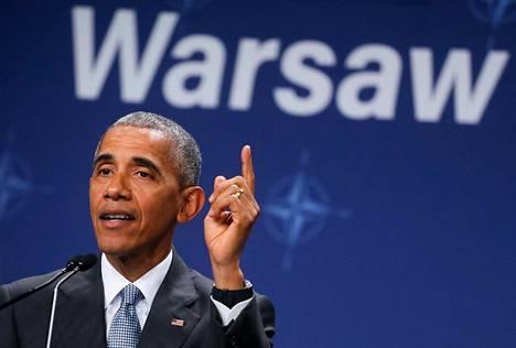 Barack Obaman näkemyksen mukaan Eurooppa voi aina luottaa Yhdysvaltoihin.