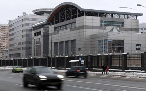 GRU:n päämaja Moskovassa joulukuussa 2016.