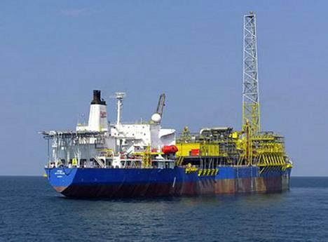 Tältä laivalta Etelä-Nigeriasta suomalaiset kidnapattiin.