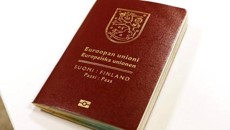 Suomen passi on jaetulla neljännellä sijalla.