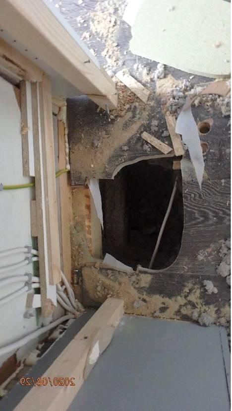 Talon rakenteissa risteili sähkökaapeleita, joita ei oltu korjaustöiden yhteydessä eristetty asianmukaisesti.
