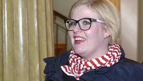 Annika Saarikko.