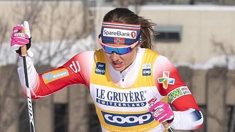 Ingvild Flugstad Östberg on Norjan hiihdon suurimpia tähtiä.