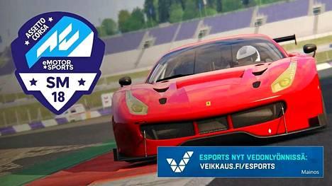 Emotorsports-sarjaa ajetaan Assetto Corsa -pelillä.